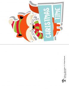 Christmas Time Card for Kids
