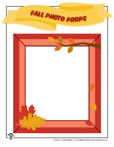 Autumn Photo Frame Picture