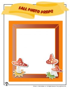 Free Printable Fall Photo Frame