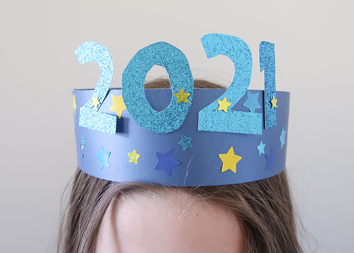 New Year's Party Hat for Kids