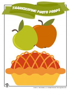 Printable Apple Pie Photo Prop