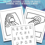 Printable Fancy Bubble Letters
