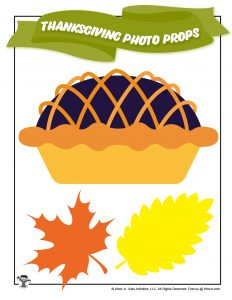 Printable Pie Leaves Photo Set Pictures