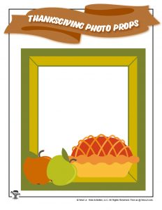 Printable Thanksgiving Photo Frame