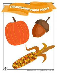Pumpkin Maize Indian Corn Props