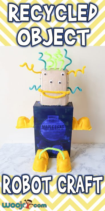 Recycled Object Robot Craft