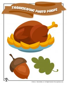 Thanksgiving Feast Printables for Kids
