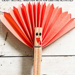Clothes Pin Turkey Craft