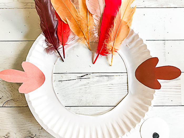 Turkey Craft From a Paper Plate