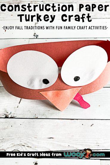 Construction Paper Turkey Hat Craft