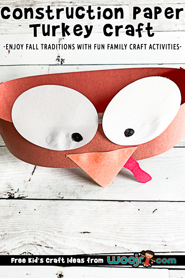 Construction Paper Turkey Hat Craft