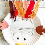 Paper Plate Turkey Kids Craft