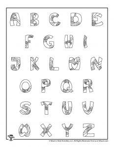 Fancy Bubble Letters Set