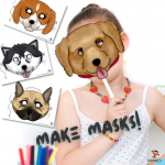 Printable Kids Masks
