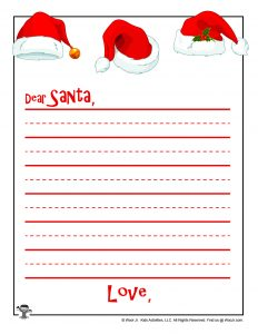 Dear Santa Stationery for Kids
