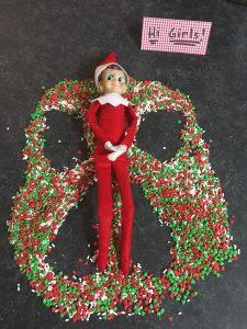 Christmas Sprinkles Elf Angel