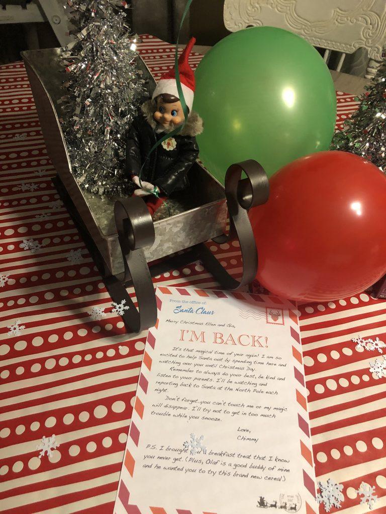 Christmas Elf is Back