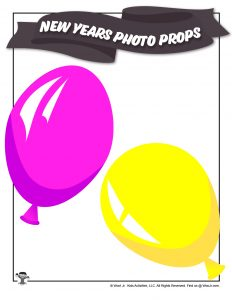 New Years Balloon Printable