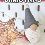 Polymer Clay Christmas Gnome Tutorial