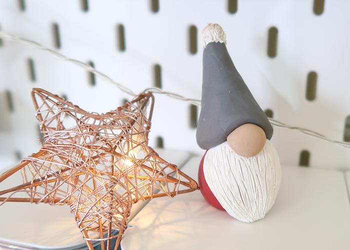 Polymer Clay Christmas Gnome Tutorial