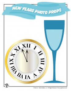 New Years Eve Countdown Clock Selfie Prop