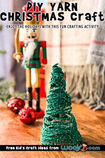 Simple Yarn Tree Craft