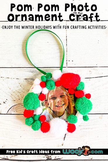 Easy Photo Ornament Craft
