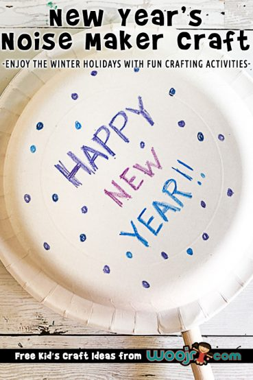 New Year's Eve Noise Maker Craft Project