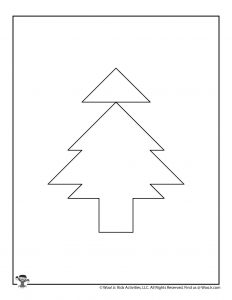 O Christmas Tree Christmas Paper Puzzle for Kids