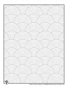 Pattern Coloring Pages for Adults & Teens