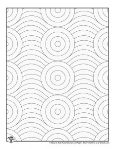 Adult Coloring Page Printables