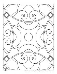 Printable Pattern Coloring Pages