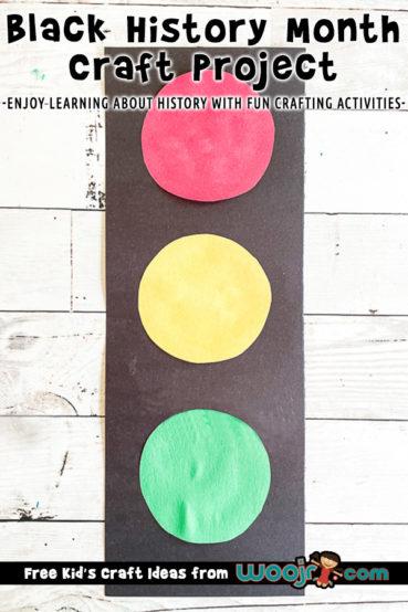 Black History Month Preschool Art Project: Garrett Morgan's Traffic Light