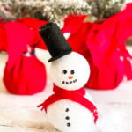 Styrofoam Snowman Craft