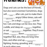 Dogs and Cats Ad Libs Games