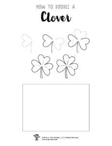 How to Draw a Clover Tutorial