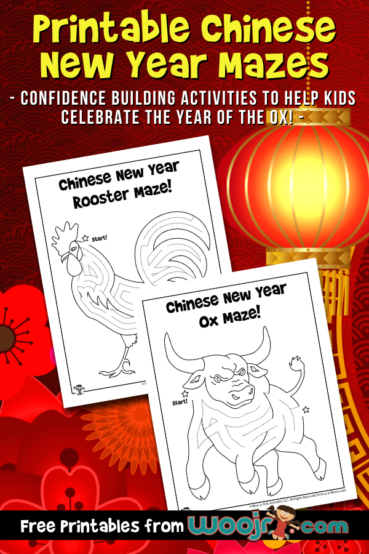 Printable Chinese New Year Mazes