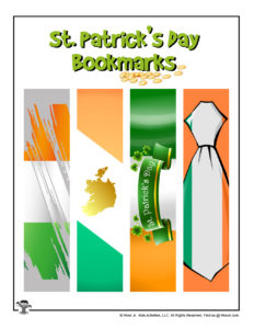 Printable Ireland Bookmarks for Kids