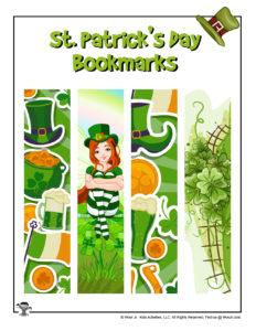 Printable St. Patrick's Day Bookmarks