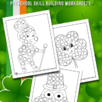 St. Patrick's Dot Coloring Pages
