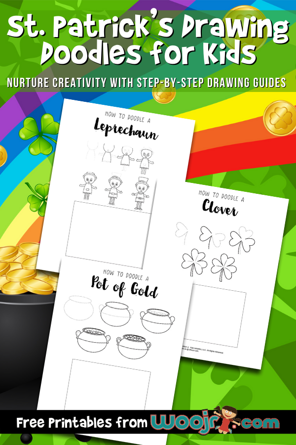 St. Patrick's Drawing Doodles for Kids