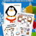 Winter Cut & Paste Worksheets