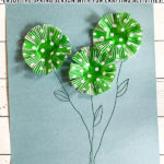 Spring Flower Craft DIY with Cupcake Liners