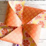 DIY Paper Pinwheels Craft