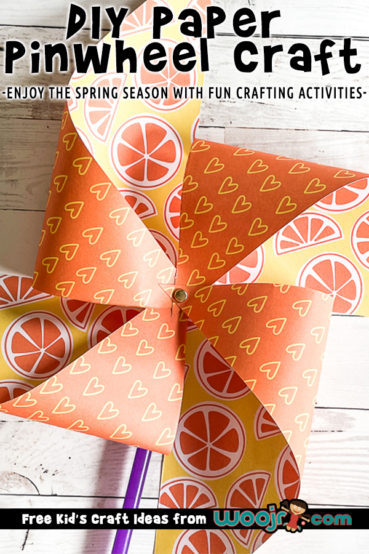 DIY Paper Pinwheels Craft