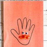 Handprint Lorax Craft for Preschoolers