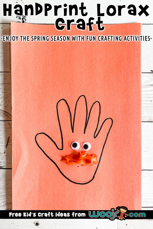 Lorax craft for preschoolers