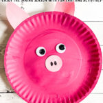 Paper Plate Pig Craft Project