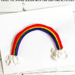 Pipe Cleaner Rainbow Craft