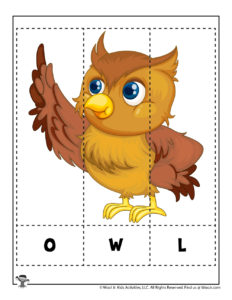 Learn to Spell Puzzles for Kids